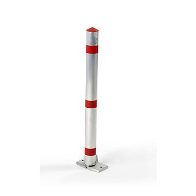 URBANUS Sperrpfosten, Alu-Rundrohr, abschließbar - mit Fußpedal und Automatik
