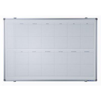 Smit Visual Jahresplaner - BxH 900 x 600 mm, Version DE, mit 365-Tage-Einteilung