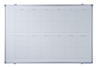 Jahresplaner - BxH 900 x 600 mm, Version EN, mit 365-Tage-Einteilung