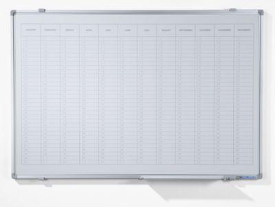 Jahresplaner - mit senkrechter Monatseinteilung, Version EN, BxH 900 x