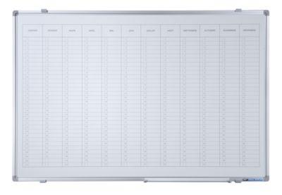 Jahresplaner - mit senkrechter Monatseinteilung, Version FR, BxH 900 x 600 mm