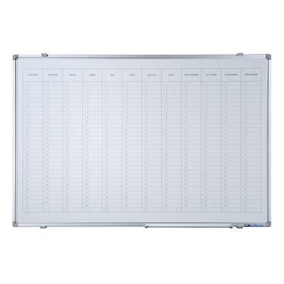 Smit Visual Jahresplaner - mit senkrechter Monatseinteilung, Version FR, BxH 900 x 600 mm
