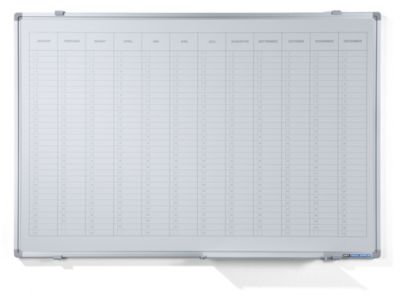 Jahresplaner - mit senkrechter Monatseinteilung, Version NL, BxH 900 x 600 mm