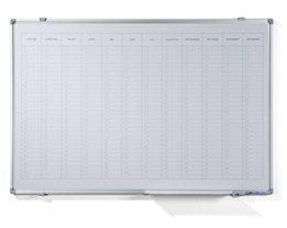 Jahresplaner - mit senkrechter Monatseinteilung, Version NL