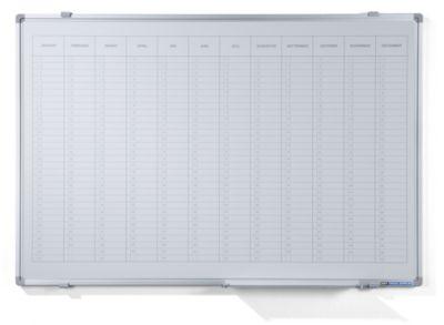 Jahresplaner - mit senkrechter Monatseinteilung, Version NL, BxH 900 x
