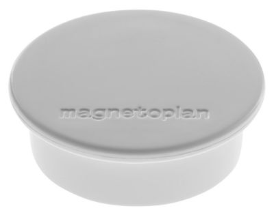 Magnet DISCOFIX COLOR, Ø 40 mm, VE 40 Stk, grau -