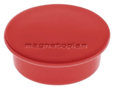 Magnet DISCOFIX COLOR, Ø 40 mm, VE 40 Stk, rot -