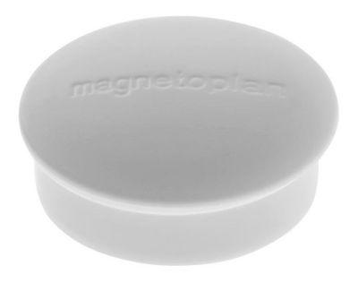 Magnet, Discofix Mini, Ø 20 mm, VE 100 Stk, weiß