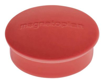 Magnet, Discofix Mini, Ø 20 mm, VE 100 Stk, rot -