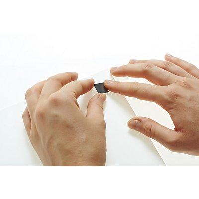 Klebe-Ecken, magnetisch, LxB 15 x 15 mm, VE 1400 Stk