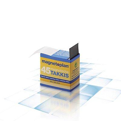 Klebe-Ecken, magnetisch, LxB 30 x 20 mm, im Spender, VE 450 Stk