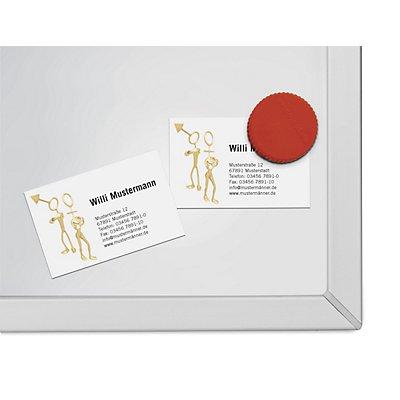 Klebe-Ecken, magnetisch, LxB 20 x 20 mm, VE 600 Stk