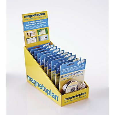 Magnetband im Spender, LxB 500 x 19 mm, VE 10 Stück