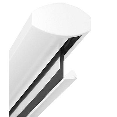 magnetoplan Motorbildwand CINEFLEX ADVANCED IR - weiß, mit Fernbedienung