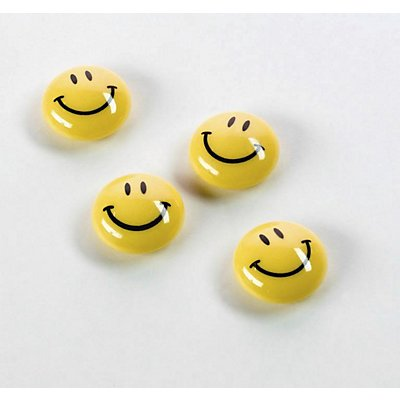 magnetoplan® Rundmagnet - Smiley