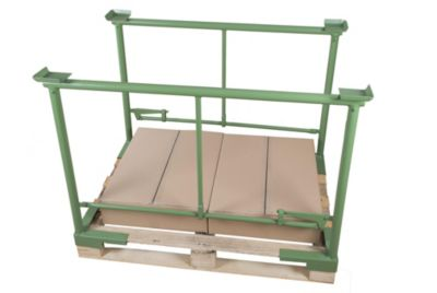 Stapel-Klemmbügel - Bügelbreite 1200 mm, 1 Paar, Nutzhöhe 800 mm