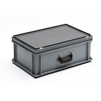 Mehrzweckkoffer - Inhalt 40 l, Außenmaß LxBxH 600 x 400 x 235 mm