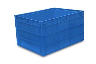 Euro-Stapelbehälter, PP - LxB 800 x 600 mm, mit glattem Boden
