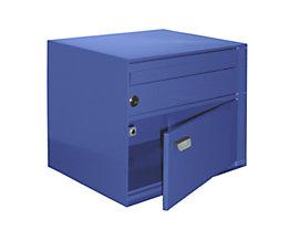 Briefkasten, BxHxT 390 x 315 x 310 mm - Stahlblech, pulverbeschichtet