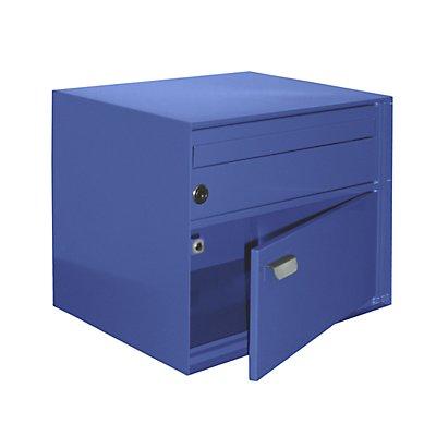 allebacker Briefkasten, BxHxT 390 x 315 x 310 mm - Stahlblech, pulverbeschichtet