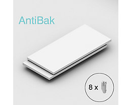 Tablette supplémentaire - lot de 2 - largeur tablette 1300 mm, profondeur tablette 600 mm