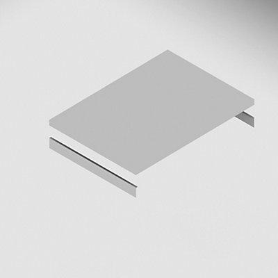 Fachboden, inkl. Auflagetraversen - verzinkt