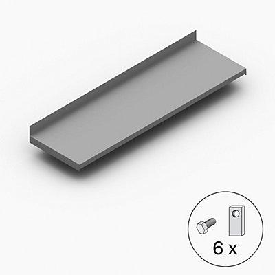 hofe Fachboden für Leichtschraubregal - Breite x Tiefe 1000 x 300 mm - verzinkt