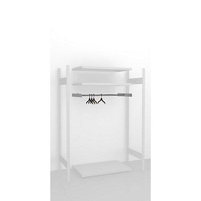 hofe Kleiderstangen-Einbausatz - für Regalbreite 1000 mm