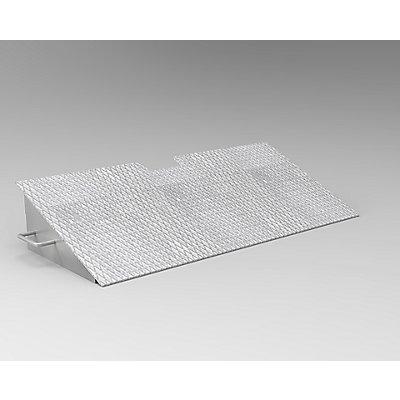 Auffahrrampe - zum Ein-/Auslagern - HxBxT 169 x 900 x 400 mm