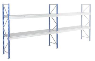 Schwerlast-Großfachregal - mit Stahlauflagen-Modulen