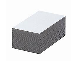 Magnet-Lagerschilder - weiß - HxB 30 x 100 mm, VE 100 Stk