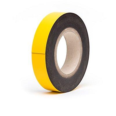 Magnet-Lagerschilder - gelb, Rollenware