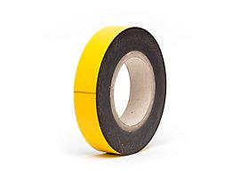Magnet-Lagerschilder - gelb, Rollenware - Höhe 30 mm, Rollenlänge 10 m