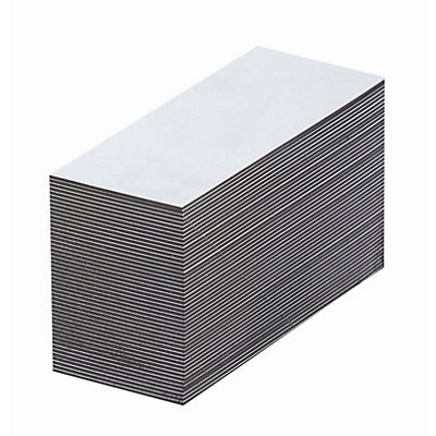 Magnet-Lagerschilder - weiß