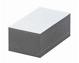 Magnet-Lagerschilder - weiß - HxB 60 x 100 mm, VE 100 Stk