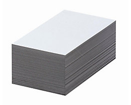 Magnet-Lagerschilder - weiß - HxB 70 x 100 mm, VE 100 Stk