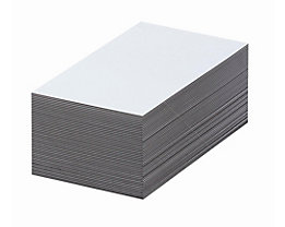 Magnet-Lagerschilder - weiß - HxB 80 x 100 mm, VE 100 Stk