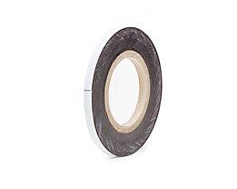 Magnet-Lagerschilder - weiß, Rollenware - Höhe 10 mm, Rollenlänge 10 m