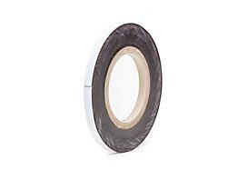 Magnet-Lagerschilder - weiß, Rollenware - Höhe 15 mm, Rollenlänge 10 m