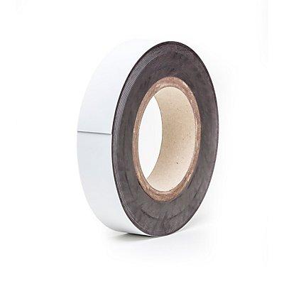 Magnet-Lagerschilder - weiß, Rollenware