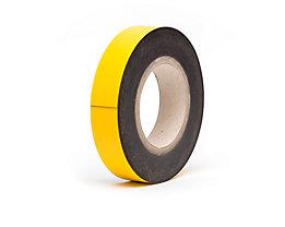 Magnet-Lagerschilder - gelb, Rollenware - Höhe 40 mm, Rollenlänge 10 m