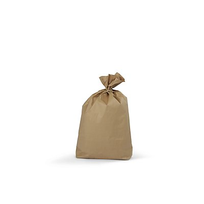 Abfallsäcke - aus Papier - Inhalt 120 l, VE 100 Stk