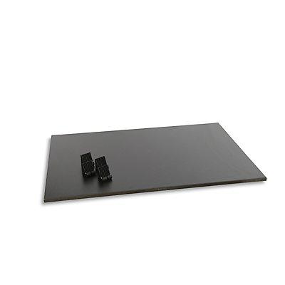 Fachboden aus MDF-Holz, Dekor beschichtet - mit 4 Auflagehaken - BxTxH 1032 x 682 x 19 mm
