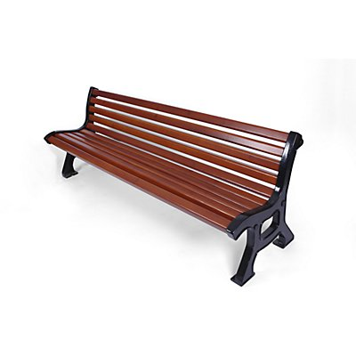 Holz-Sitzbank - massiv, Länge 2 Meter
