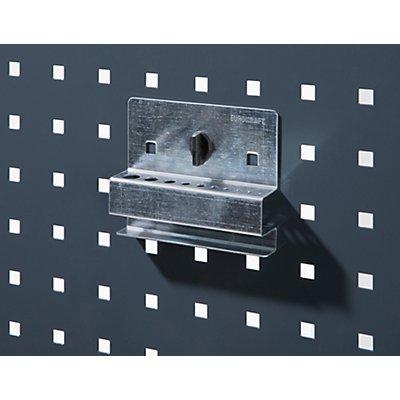 Inbusschlüsselhalter - HxB 115 x 105 mm, mit 10 Aufnahmen