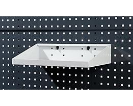 Ablageboden - lichtgrau, BxT 450 x 250 mm