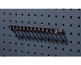 Werkzeugklemmhalter - mit Kunststofflaschen, Breite 300 mm