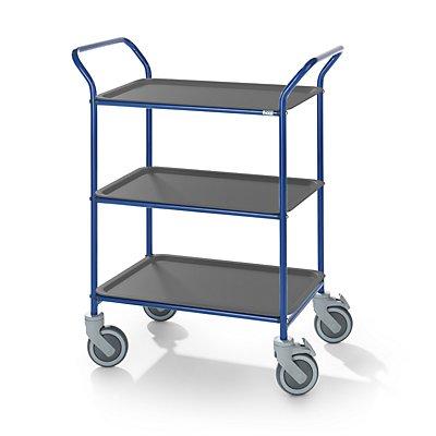 Kongamek Tablettwagen, Tragfähigkeit 150 kg - LxBxH 770 x 495 x 960 mm