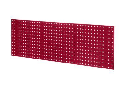 EUROKRAFT Stahlblechplatte mit Quadratlochung - Länge 1524 mm