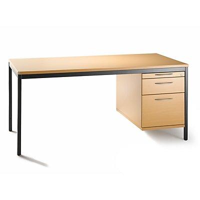 fm LENA Schreibtisch-Unterschrank - 3 Schübe, HxBxT 540 x 434 x 800 mm